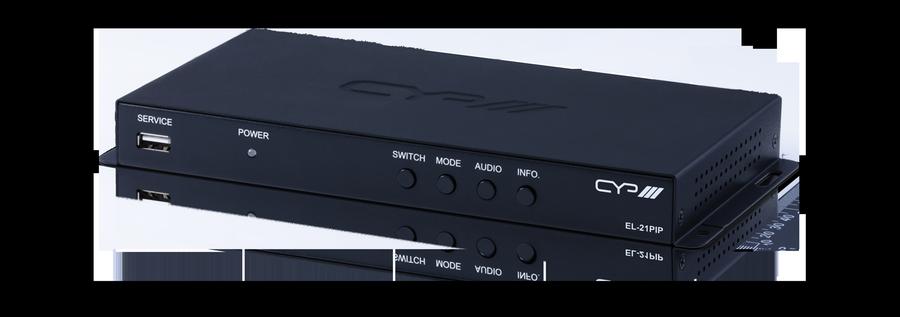 Multiviewer HDMI 4K/ 2K 2x1 EL-21PIP